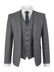 Ben Sherman Smoked Pearl Tonic Suit