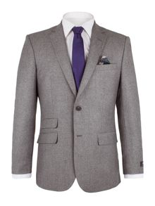 Alexandre of England Nelson Grey Brished Micro Suit