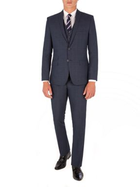 Limehaus Blue Check Suit