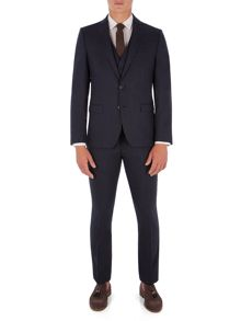 Ben Sherman Peacoat Flannel Camden Suit