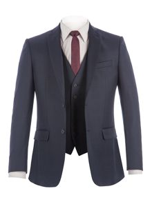 Racing Green Bramley Navy Pick & Pick Suit