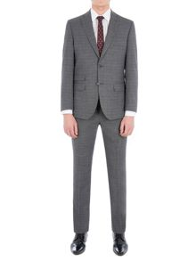 Racing Green Fyfield Charcoal Jaspe Suit