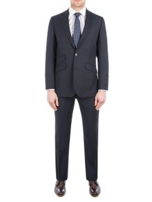 Pierre Cardin Henry Navy Multi Stripe Suit