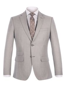 Alexandre of England Lombard Oatmeal Linen Blend Suit