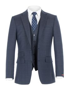Pierre Cardin Stephen Blue POW Check Suit
