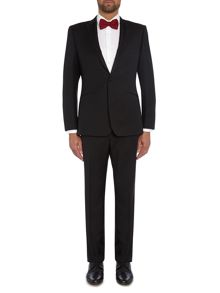 Richard James Mayfair Contempory Black Hopsack Suit