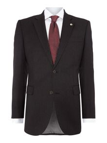 Plain Tailored Fit Single Breasted Suit