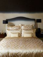 Gingerlily Rubans silk cotton bed linen range