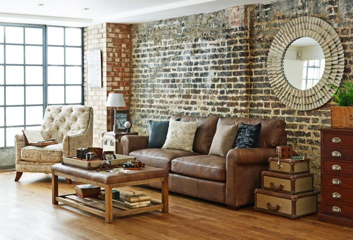 Outstanding Shabby Chic Room with Leather Sofa 710 x 250 · 43 kB · jpeg
