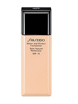 Shiseido Sheer and Perfect Foundation SPF15 30ml