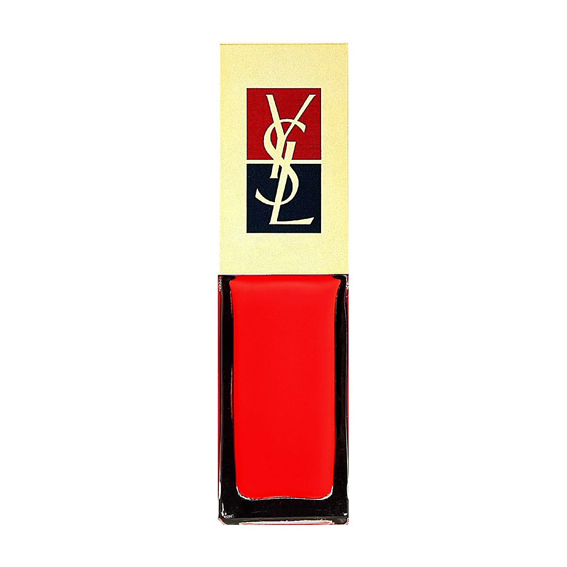 La Laque long-lasting nail lacquer Flaming Orange