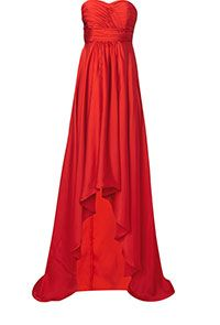 Studio 75 Strapless Rouched Top Maxi Dress