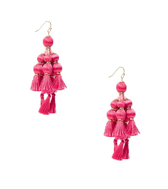 Kate Spade New York Wbrue160 Tassel Statement Earrings