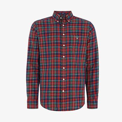 Gant Cotton Tartan Long-Sleeve Shirt