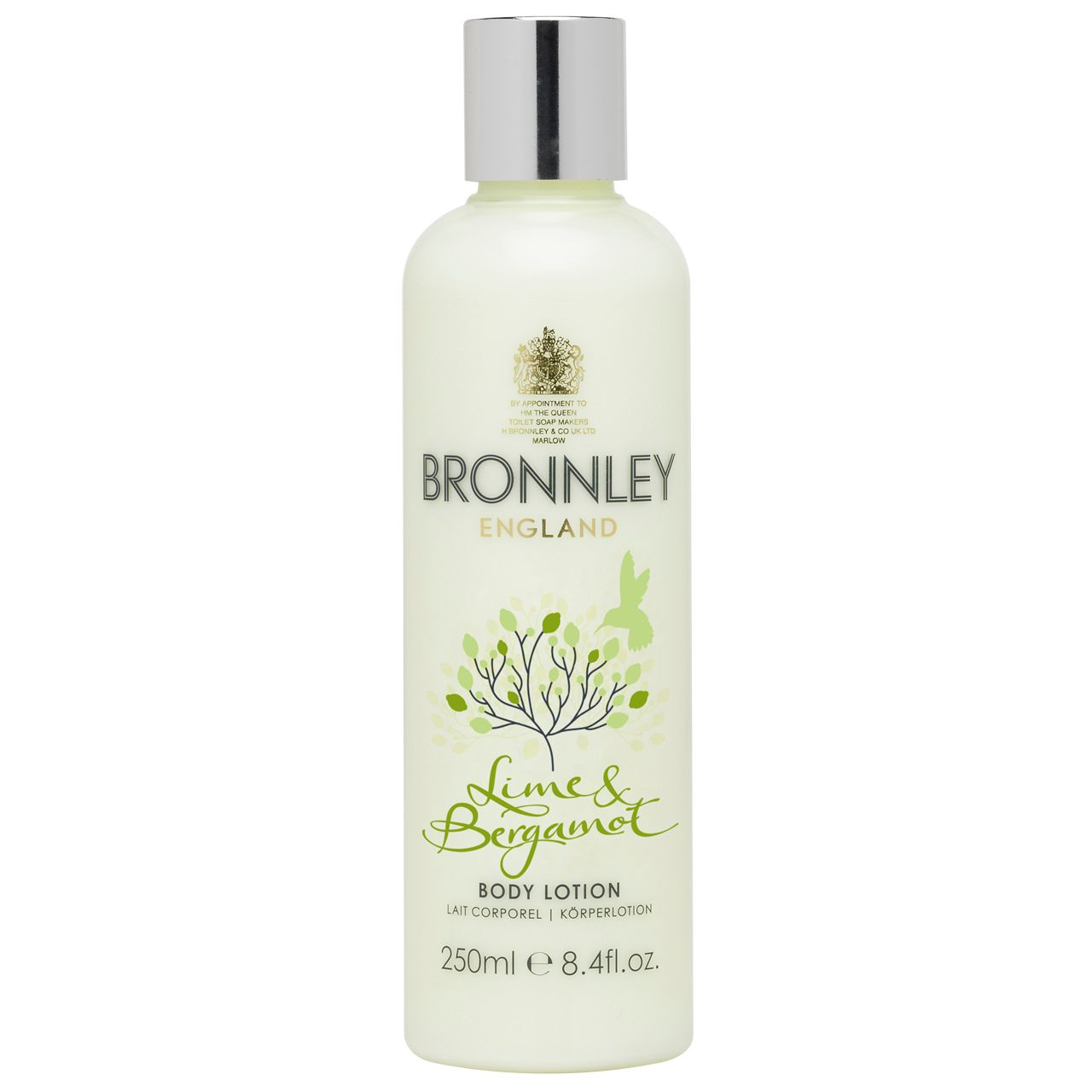 Lime and Bergamot 250ml Body Lotion