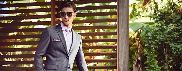 House of Fraser Corsivo grey suit