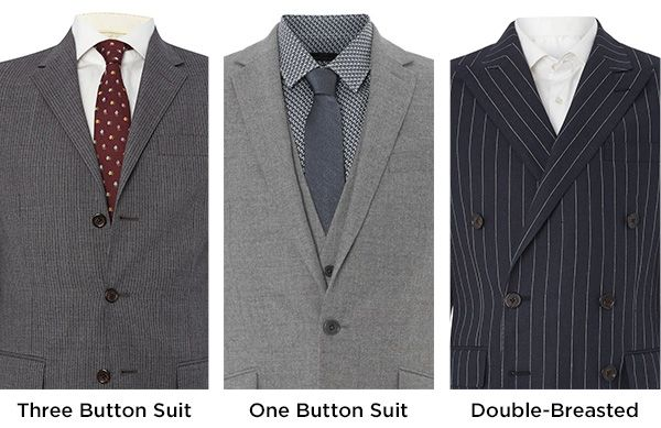 House of Fraser suit buying guide