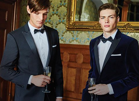 Shop the Men's Black Tie Edit