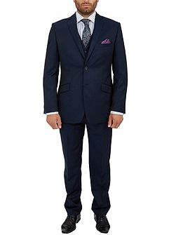 Men's Paul Costelloe Ocean Tonic Twill Suit Trousers