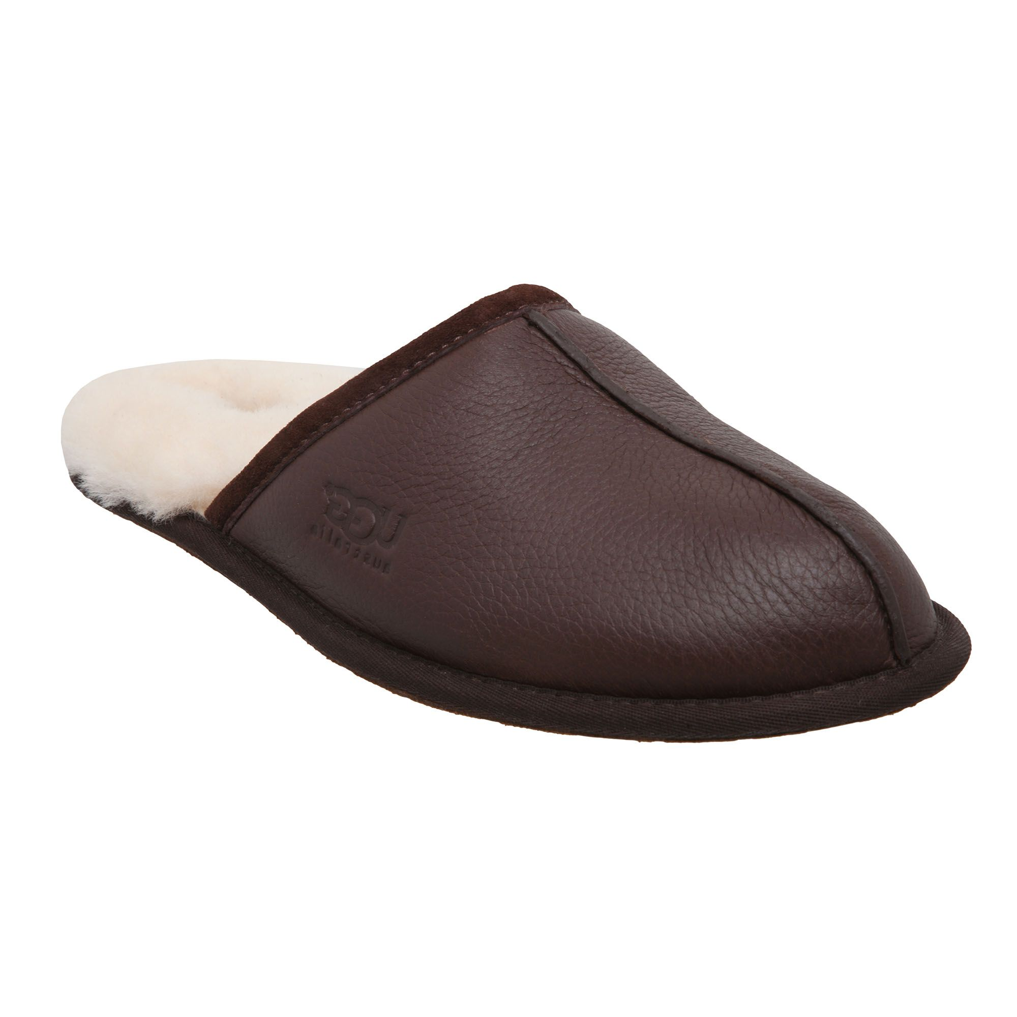 Mens Leather Bedroom Slippers Mens Slippers At House Of Fraser