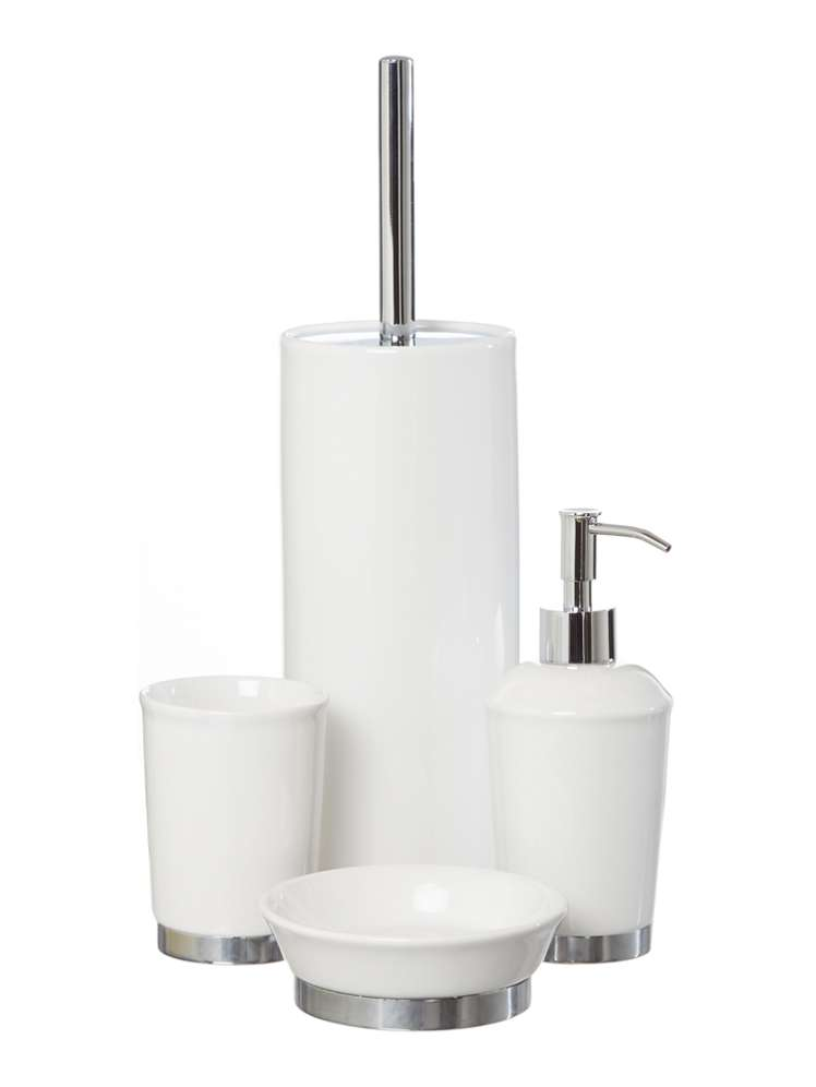 selectedcolor - White Bathroom Accessories Ceramic