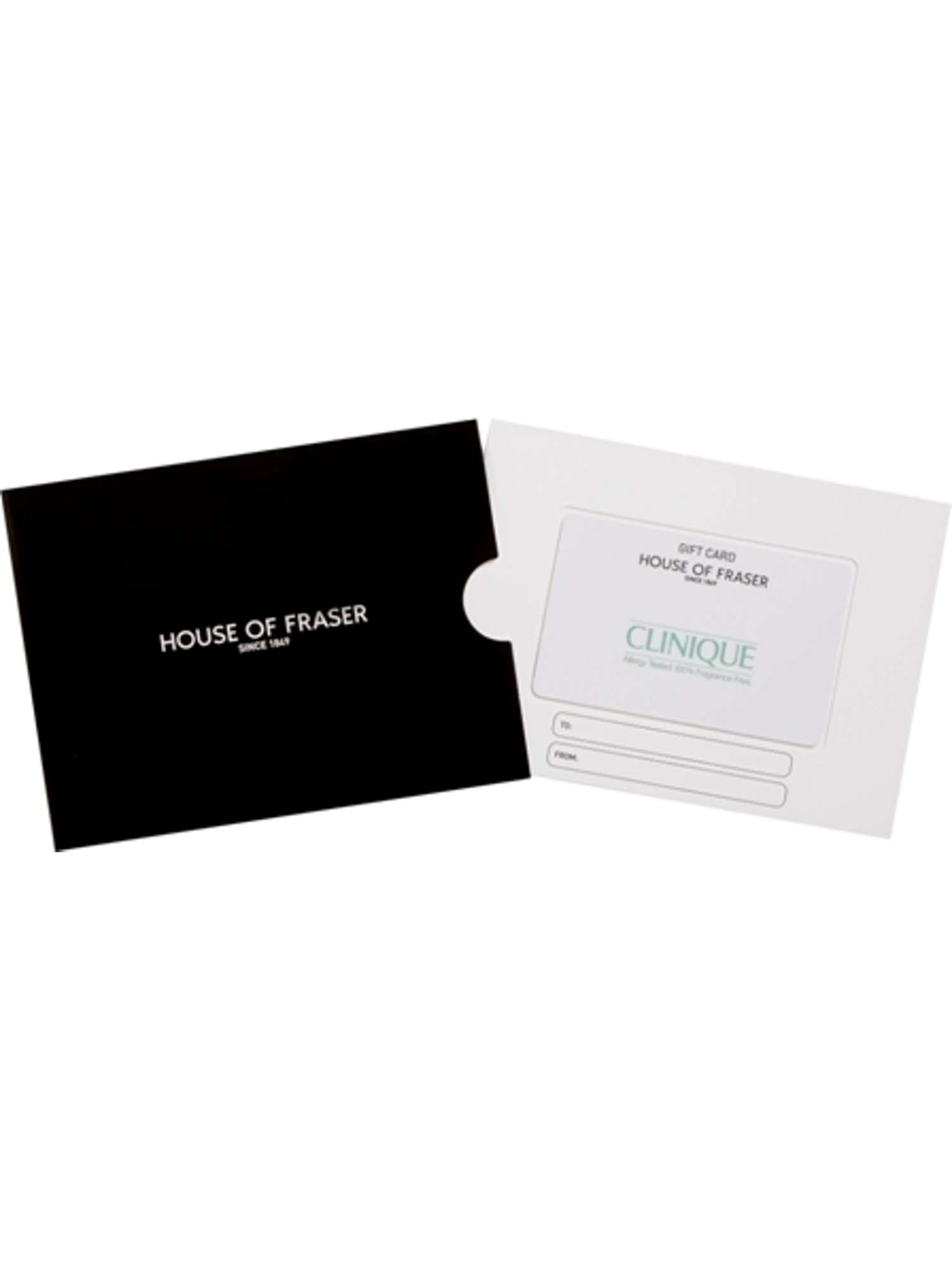 Gift cards vouchers house of fraser house of fraser clinique gift card xflitez Images
