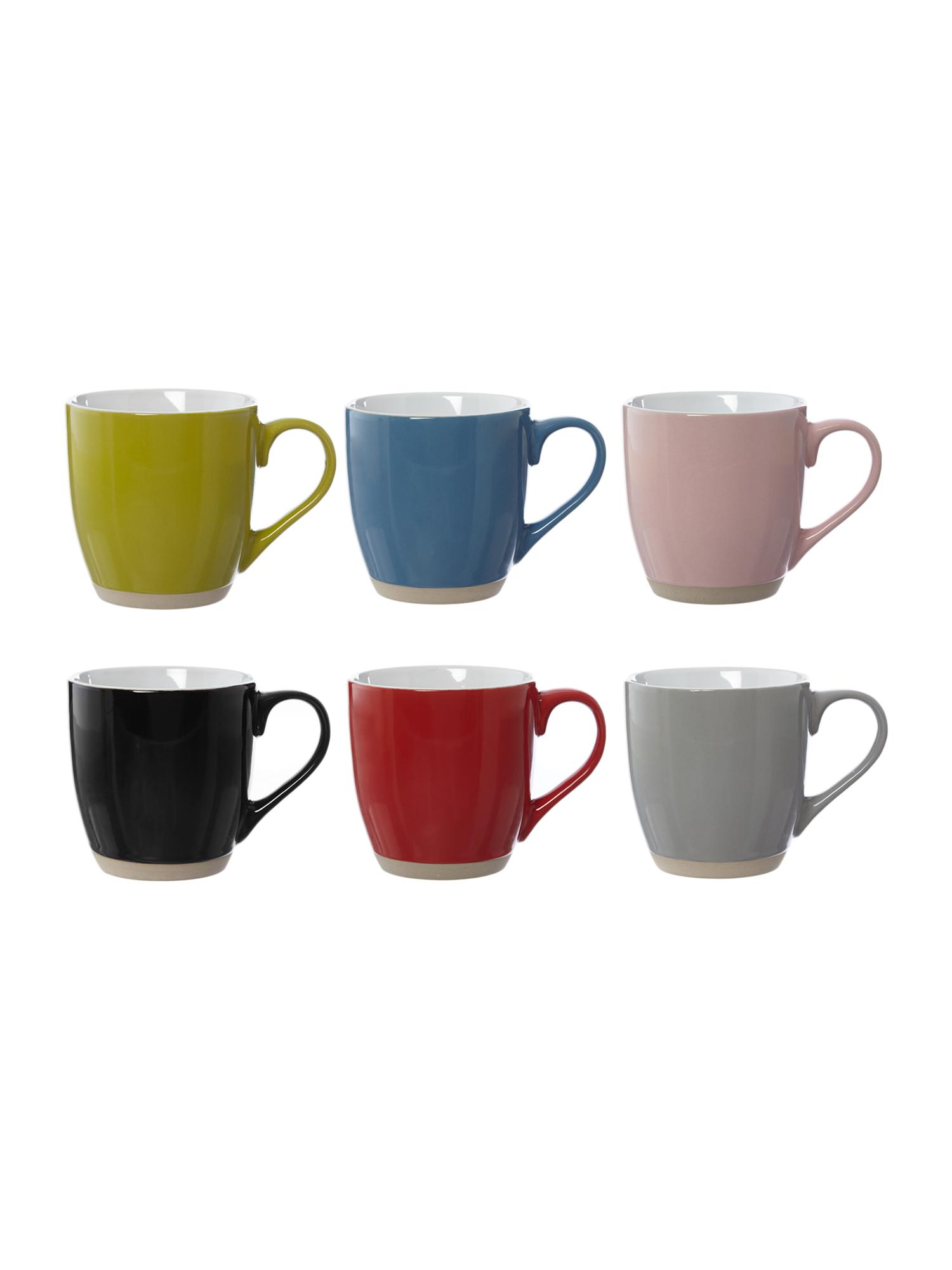 mugs  buy all your mugs  house of fraser - linea stoneware mugs range