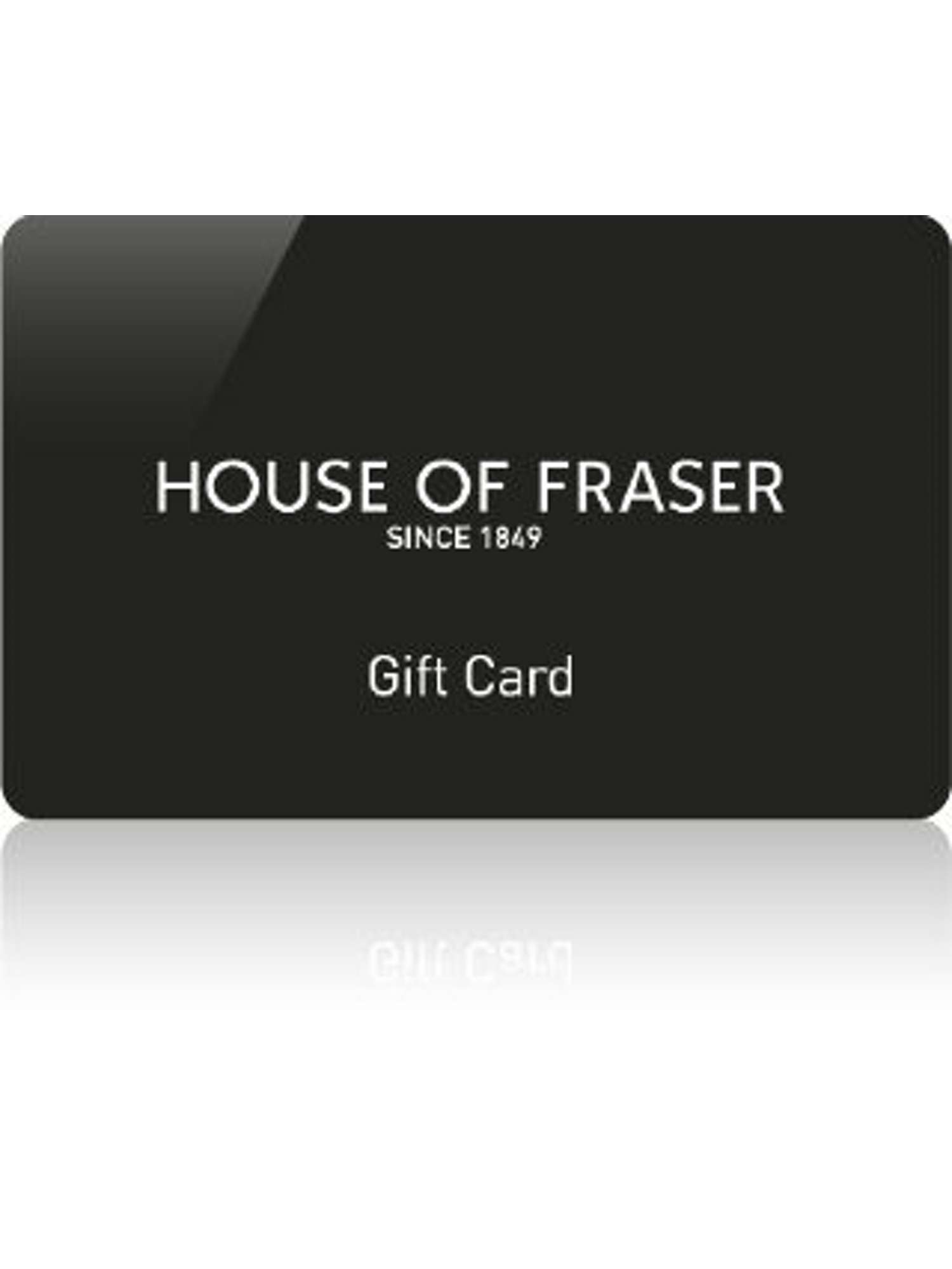 House Of Fraser Black Egift Card House Of Fraser