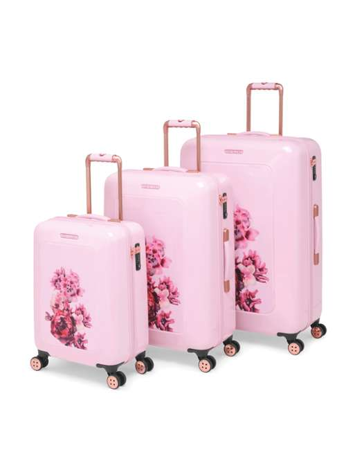 6d9acb1f16d47b Ted Baker Splendor Pink Floral Luggage Set. From £225.00 to £295.00.  Product code  SplendorPink. selectedColor