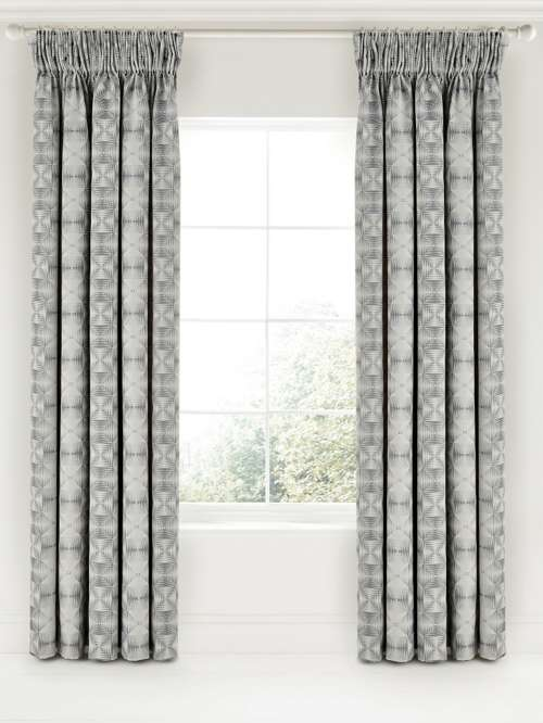 Bedeck 1951 Soto Lined Curtains 90x90 Charcoal House Of Fraser