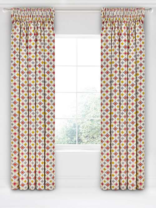 Bedeck 1951 Otto 66x72 Mulberry Curtains House Of Fraser
