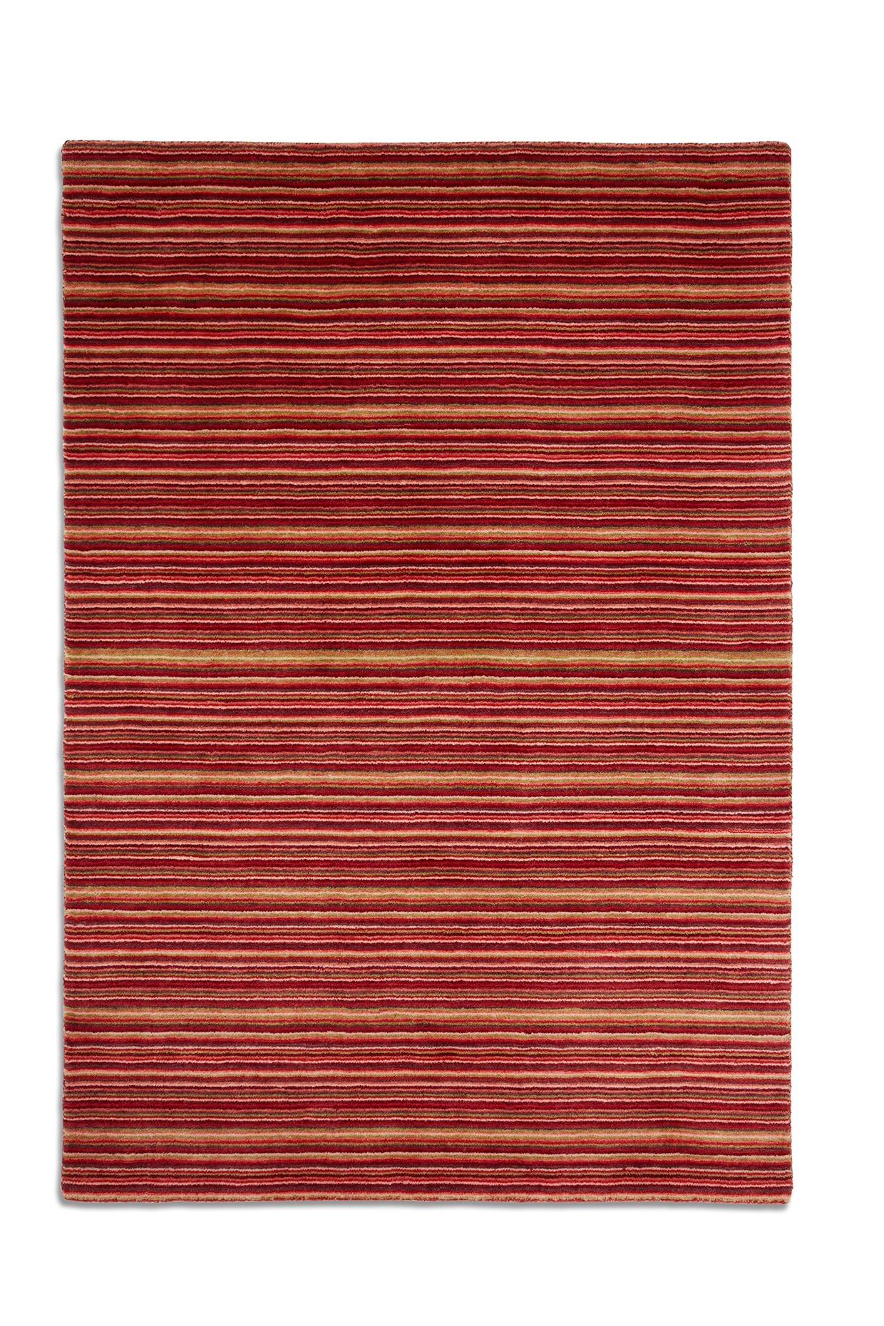 Seasons 100% Wool Rug Range In Red ... Part 64