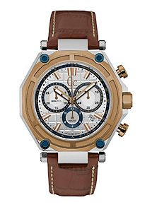 men s watches watches for men house of fraser gc x10004g1s mens leather sports watch
