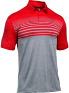 Men's Under Armour Coolswitch Upright Stripe Polo Shirt
