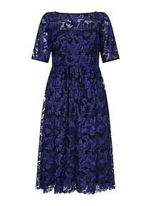 Adrianna Papell Embrodiered Dress ...