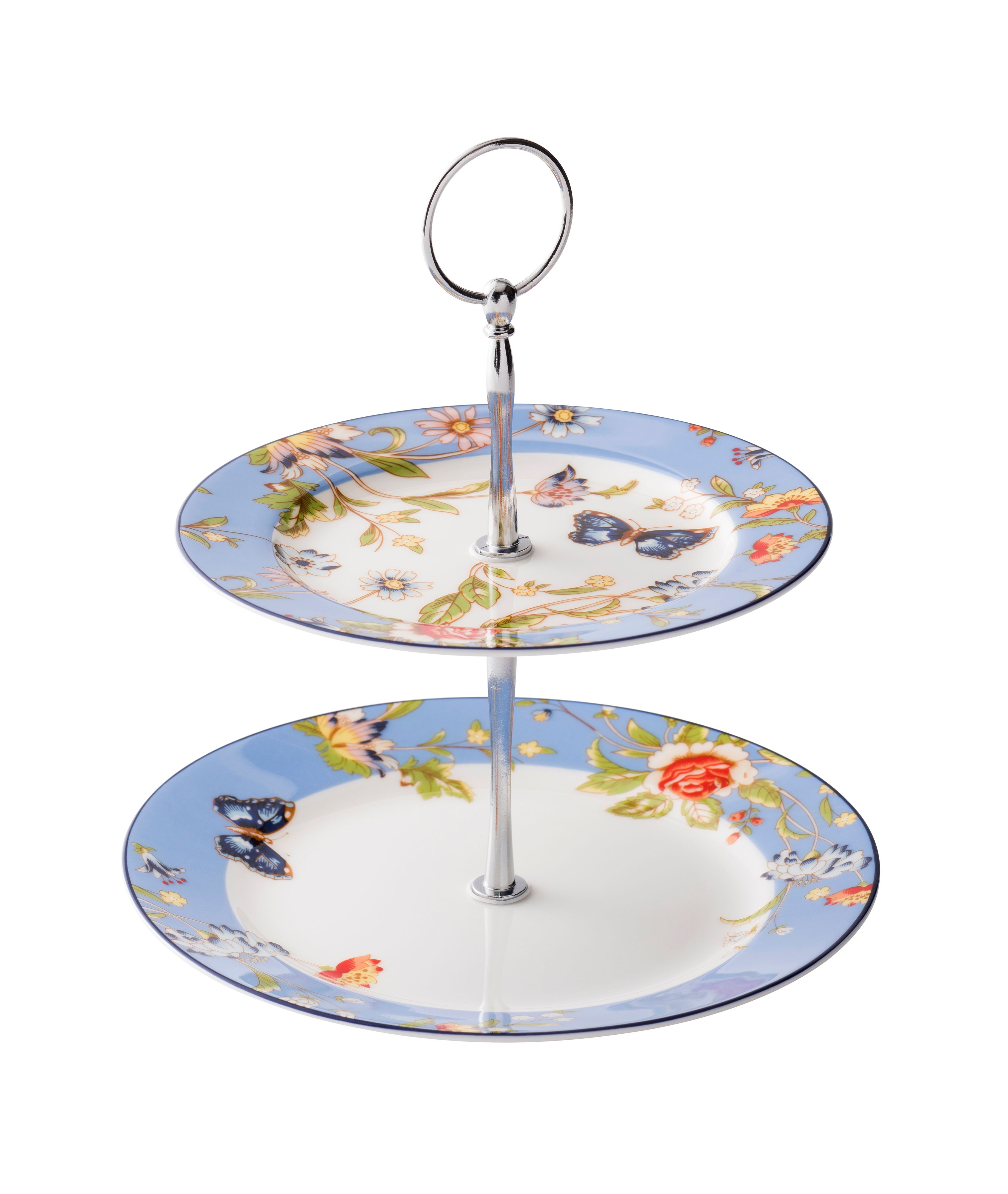 Aynsley Cottage Garden Two Tiered Cake Stand ...  sc 1 st  House of Fraser & Aynsley Dinnerware at House of Fraser
