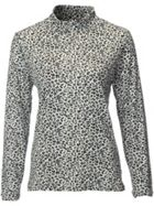 Swing Out Sister Pardus Print Roll Neck