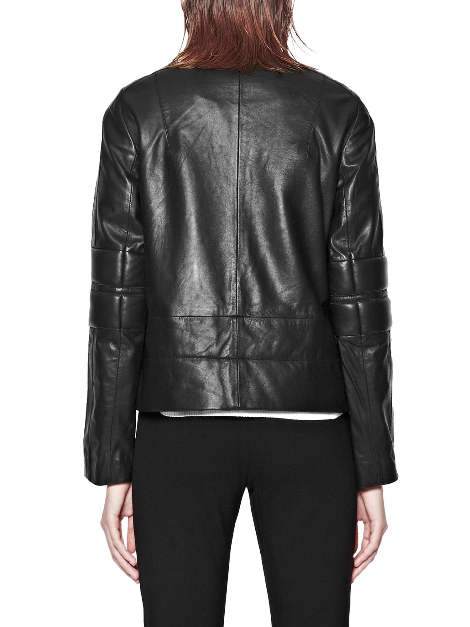 Leather Biker Jacket Jetson Connection French HwqPUU