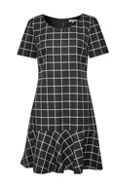 Great Plains Herringbone Check Dress