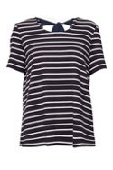 Great Plains Essentials Interlock Striped Jersey Top