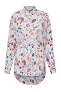 Great Plains Faeryday Floral Elastic Waist Shirt