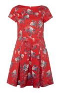 French Connection Kioa Cotton Floral Dress