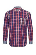 Men's French Connection Outline Patchwork Shirt