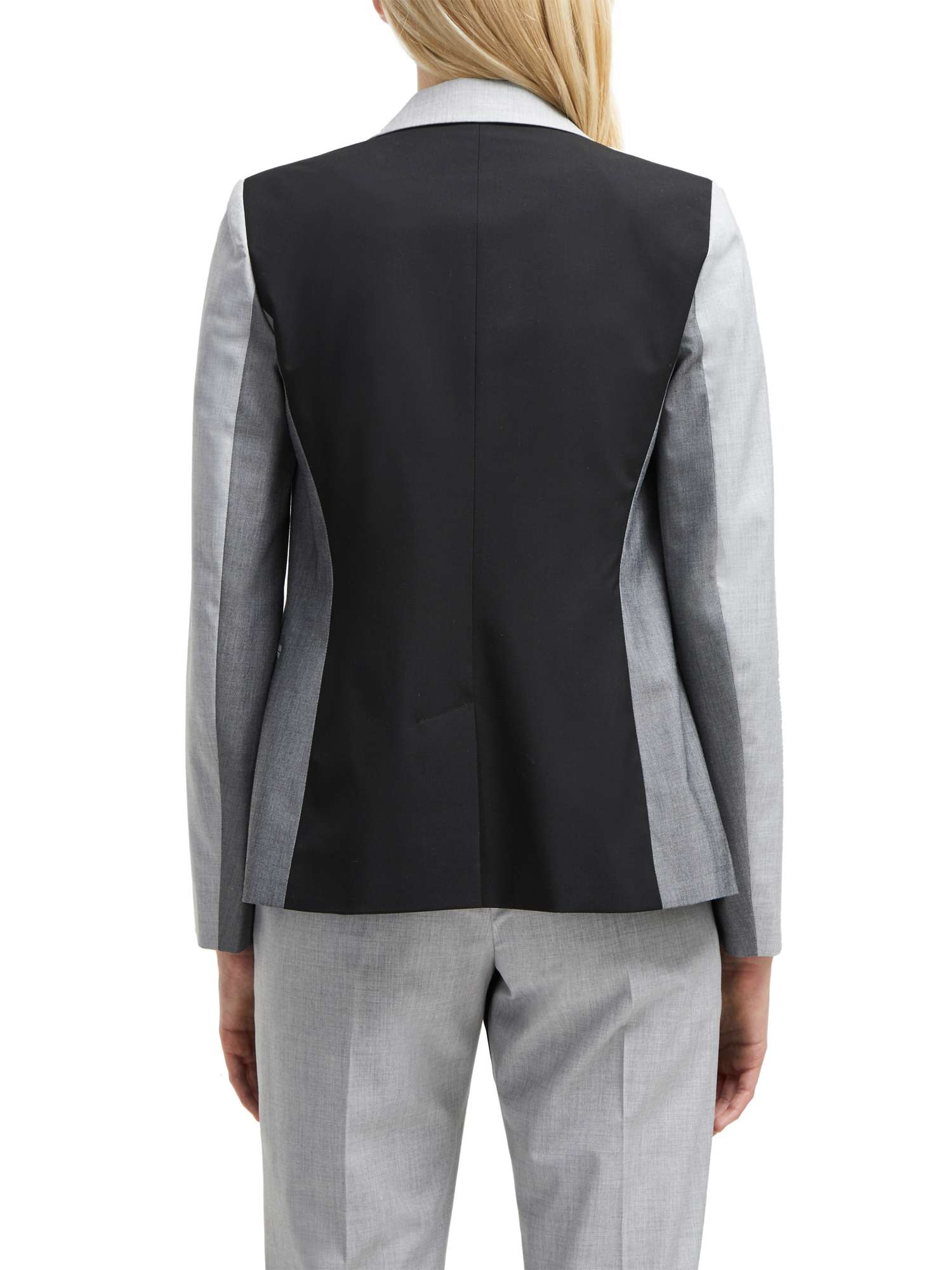 French Blazer Suiting Fitted Block Connection Colour 7wr4qO7