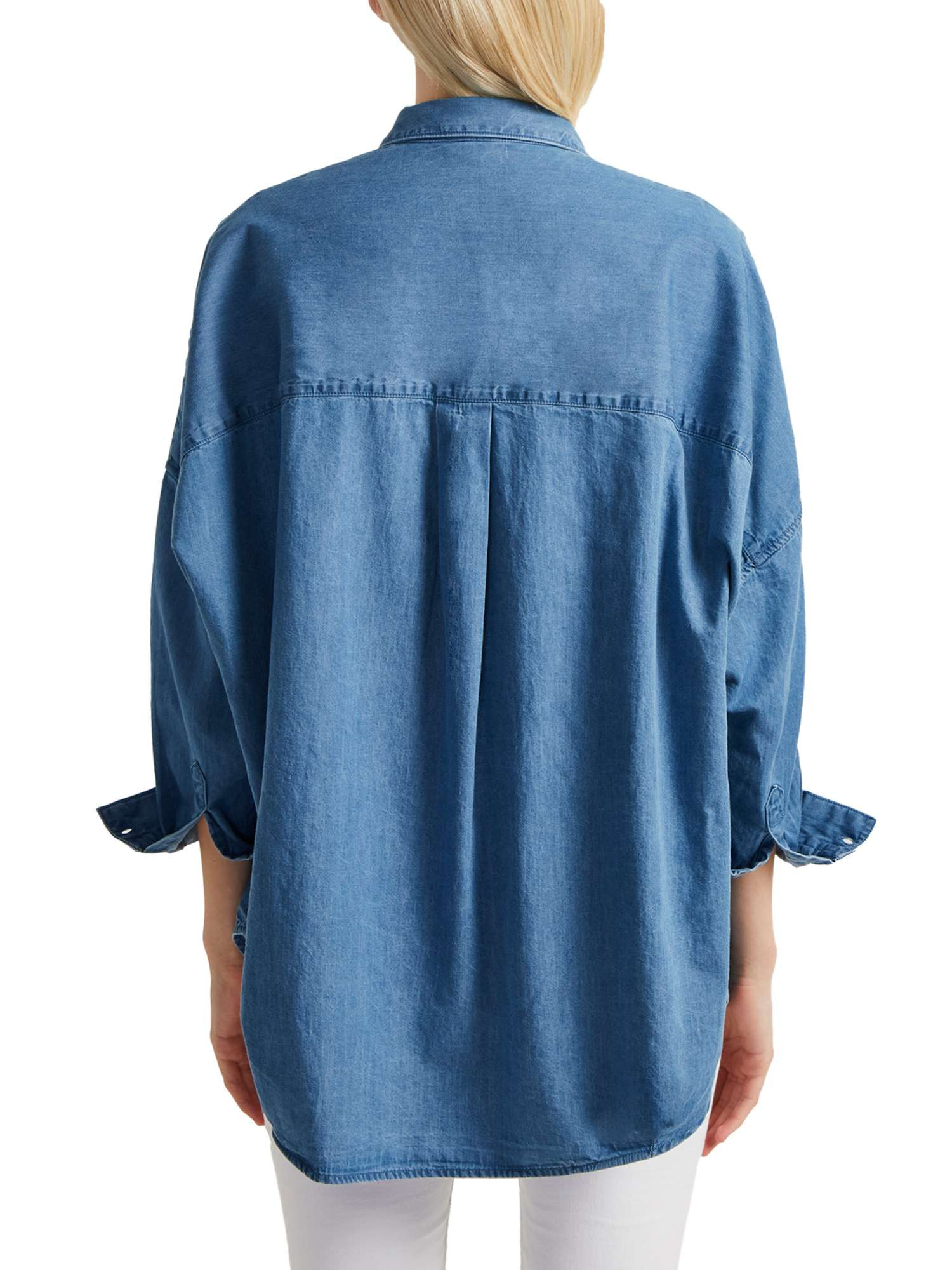 Tidore Chambray French Shirt Popover Connection UqBcZpw5c