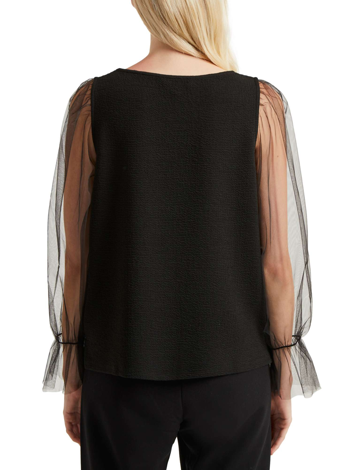 Connection French Sheer Top Phyliss Jersey Txagwqnxp