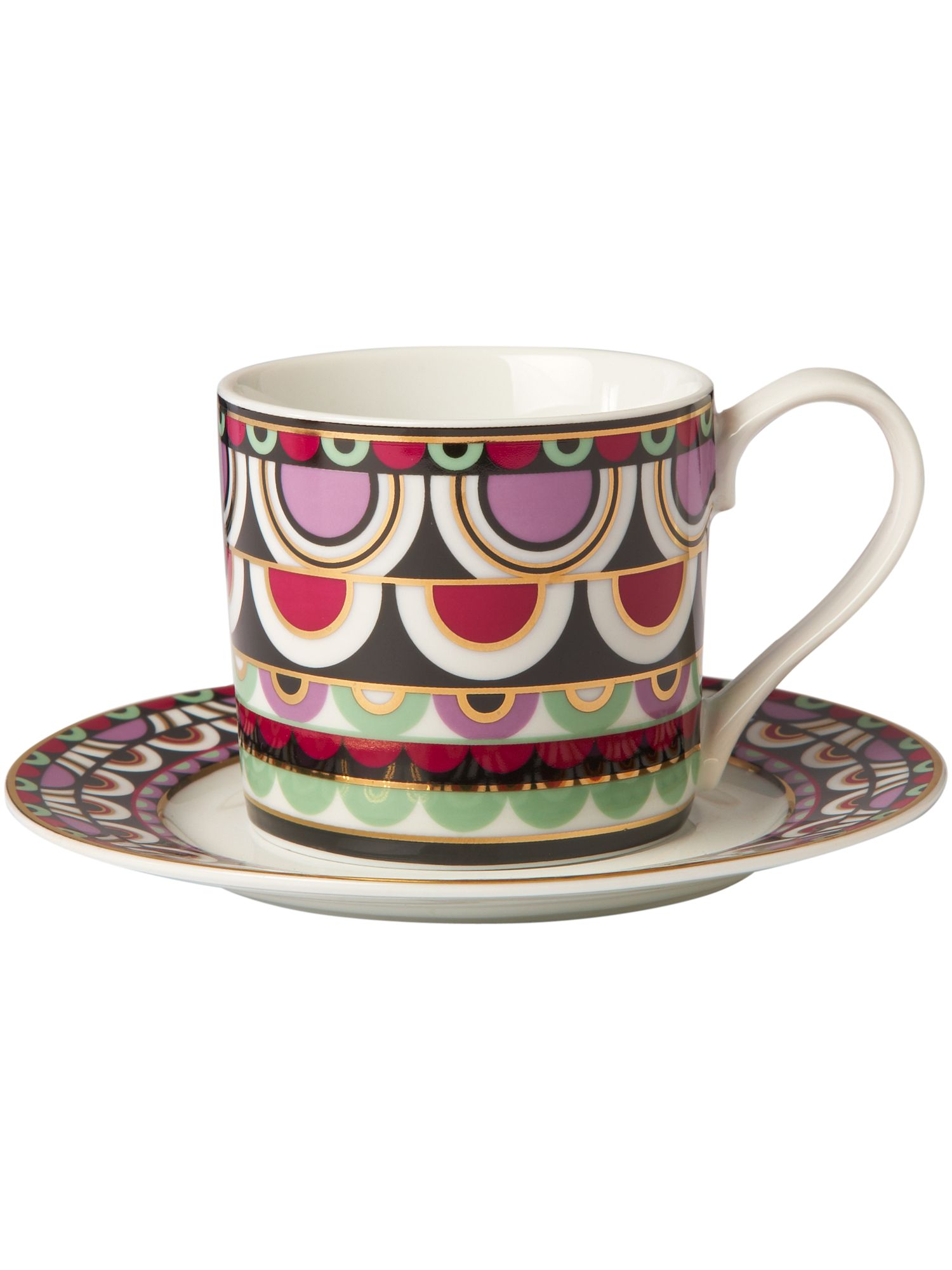 selectedColor  sc 1 st  House of Fraser & Pied a Terre Persia Jewels Cup And Saucer - House of Fraser