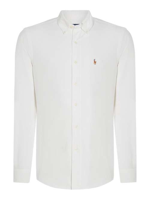 Polo Ralph Lauren Long-sleeve Slim-fit Oxford Shirt - House of Fraser 63515df64b56