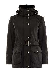 Barbour Outlaw Belted Jacket ... ecc3ee81ed