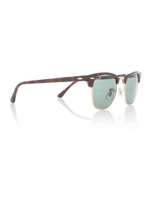Ray-Ban Mens Rb3016 Tortoise/arista Clubmaster Sunglasses - House of ...